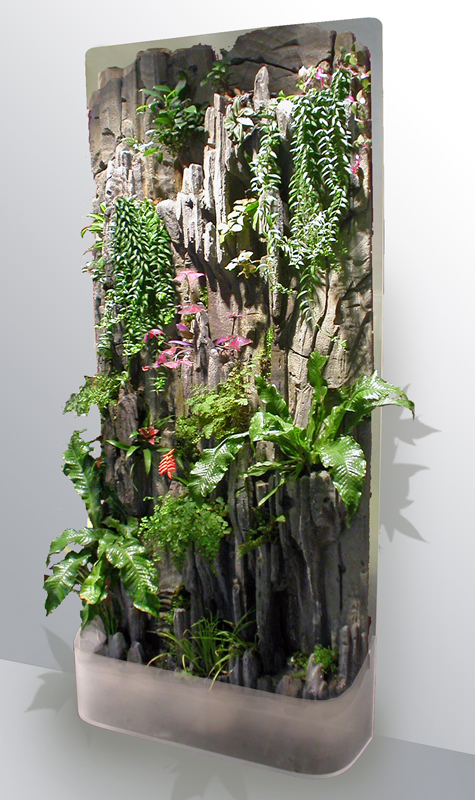 Indoor vertical garden - Jardin vertical de interior ...