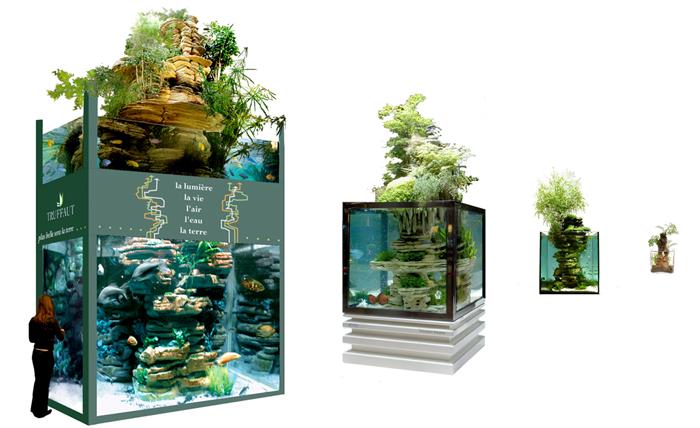 mur vgtal dcoration daquarium et bassins de latelier paul louis duranton